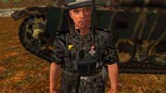 Tanque alemán comandante para GTA San Andreas