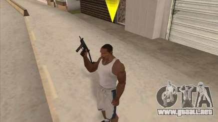 Ruso metralletas para GTA San Andreas