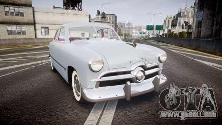 Ford Custom Club 1949 v2.2 para GTA 4