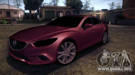 Mazda 6 2013 HD v0.8 beta para GTA San Andreas