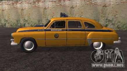 GAS -12 ZIM Soviética de la milicia para GTA San Andreas