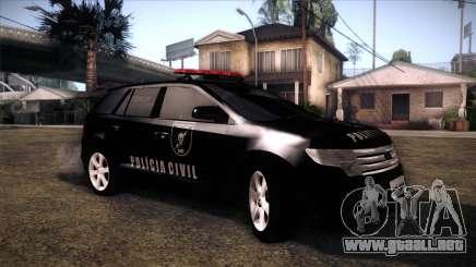 Ford Edge COPE - PCSC para GTA San Andreas