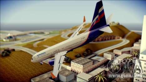 Boeing 737-800 Aeroflot para GTA San Andreas left
