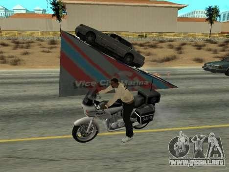 Salta para GTA San Andreas segunda pantalla