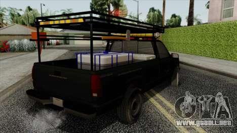 Chevrolet Silverado Military Utility Truck 1990 para GTA San Andreas left