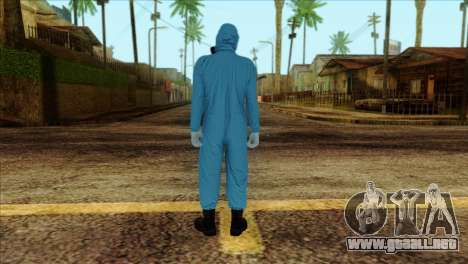 Skin 1 from Heists GTA Online DLC para GTA San Andreas segunda pantalla