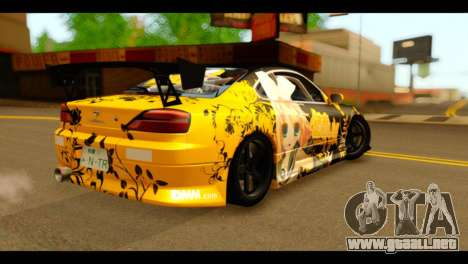 Nissan Silvia S15 Kagamine Rin Itasha para GTA San Andreas left