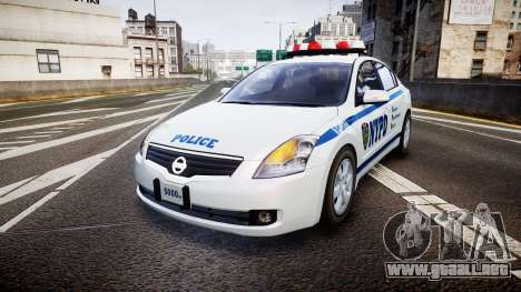 Nissan Altima Hybrid NYPD para GTA 4