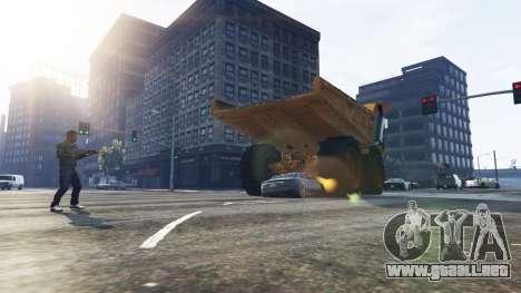 GTA 5 Vehicle Cannon tercera captura de pantalla