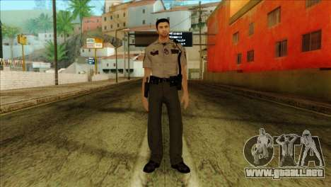 Depurty Alex Shepherd Skin without Flashlight para GTA San Andreas