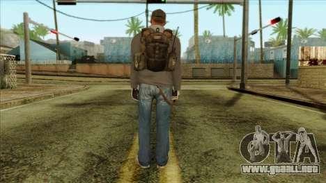 Technician from PMC para GTA San Andreas segunda pantalla