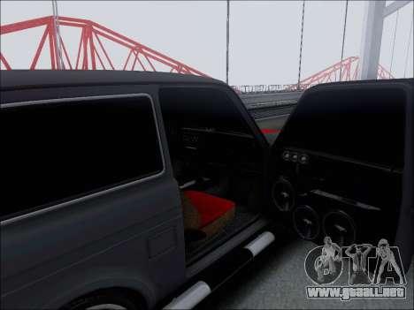 Lada Niva para la vista superior GTA San Andreas