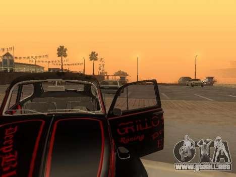 Volkswagen Super Beetle Grillos Racing v1 para la vista superior GTA San Andreas