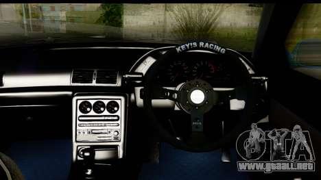 Nissan Skyline R32 para visión interna GTA San Andreas