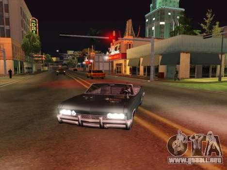 HQ ENB Series v2 para GTA San Andreas tercera pantalla