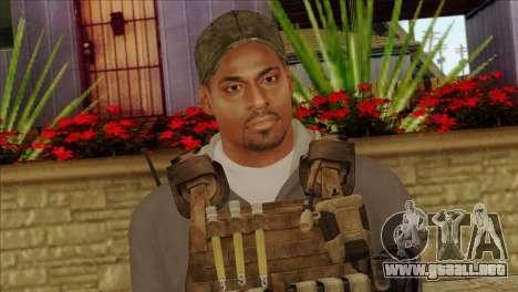 Technician from PMC para GTA San Andreas tercera pantalla