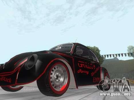 Volkswagen Super Beetle Grillos Racing v1 para GTA San Andreas left