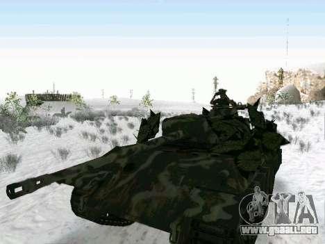 Panther para GTA San Andreas vista hacia atrás