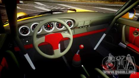 RUF CTR Yellow Bird para GTA 4 vista interior