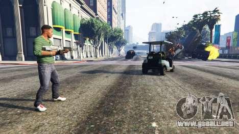 GTA 5 Vehicle Cannon segunda captura de pantalla