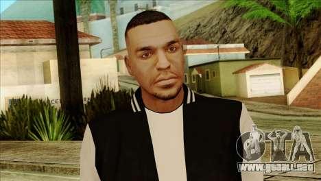 Luis Skin from GTA 5 para GTA San Andreas tercera pantalla