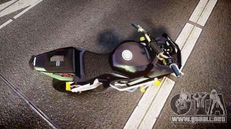 Honda CBR600RR Stunt para GTA 4 visión correcta