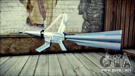 Laser Gun para GTA San Andreas segunda pantalla