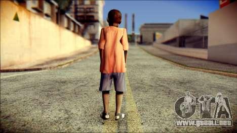 Madison Child Skin para GTA San Andreas segunda pantalla