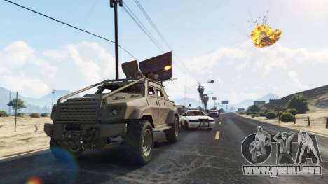 GTA 5 Control Heist Vehicles Solo v1.3 cuarto captura de pantalla