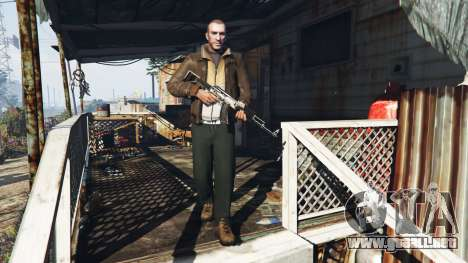 GTA 5 Niko Bellic segunda captura de pantalla