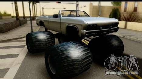 Monster Blade para GTA San Andreas