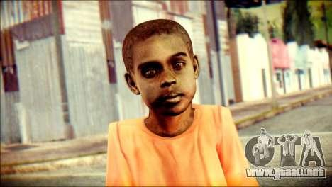 Madison Child Skin para GTA San Andreas tercera pantalla