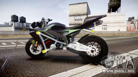 Honda CBR600RR Stunt para GTA 4 left