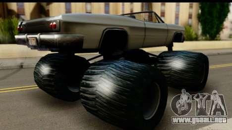 Monster Blade para GTA San Andreas left