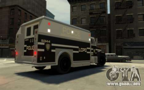GTA 3 Enforcer HD para GTA 4 left