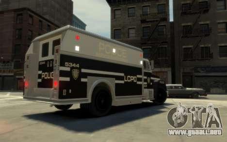 GTA 3 Enforcer HD para GTA 4 left