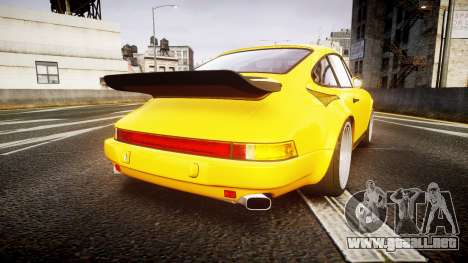 RUF CTR Yellow Bird para GTA 4 Vista posterior izquierda