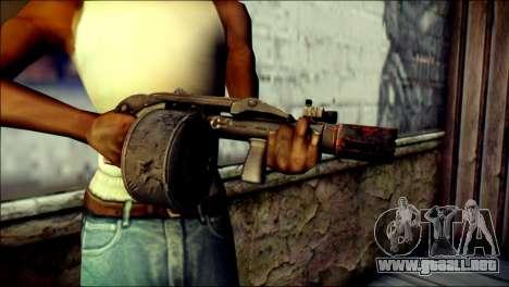 Rumble 6 Combat Shotgun para GTA San Andreas tercera pantalla