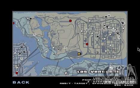 GTA 5 Map Mod v1.3 para GTA San Andreas segunda pantalla
