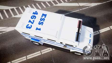 GTA V Brute Police Riot [ELS] skin 4 para GTA 4 visión correcta