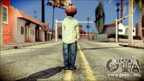 Walter Sullivan SH4 Skin para GTA San Andreas segunda pantalla