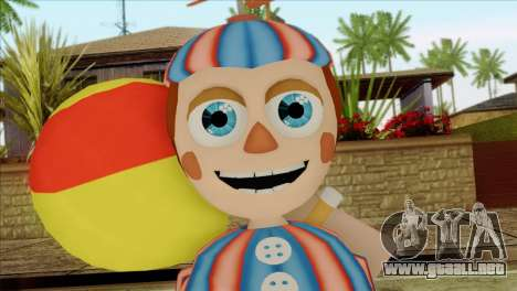 Balloon Boy from Five Nights at Freddys 2 para GTA San Andreas tercera pantalla