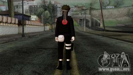 Naruto Black Skin para GTA San Andreas segunda pantalla