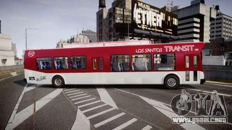 GTA V Brute Bus para GTA 4 left