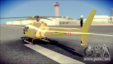 Esquilo 350 Fuerza Aerea Paraguaya para GTA San Andreas left