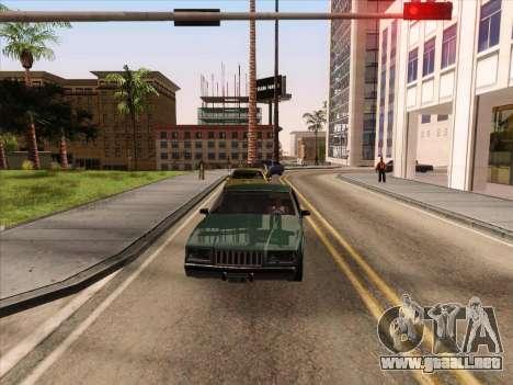 HQ ENB Series v2 para GTA San Andreas sucesivamente de pantalla