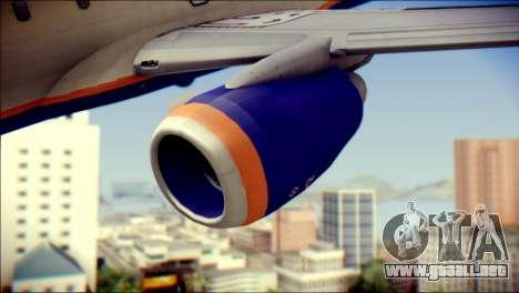 Boeing 737-800 Aeroflot para la visión correcta GTA San Andreas