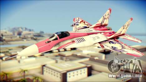 MIG-29 Shrine Maiden Hiragi para GTA San Andreas