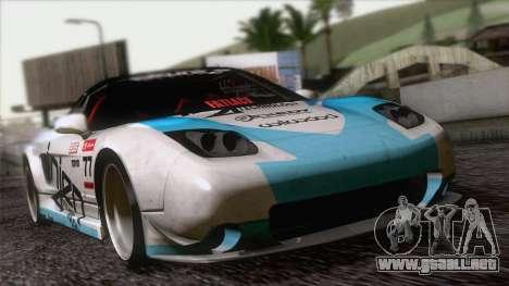 Acura NSX Miku Ghoul Itasha para visión interna GTA San Andreas