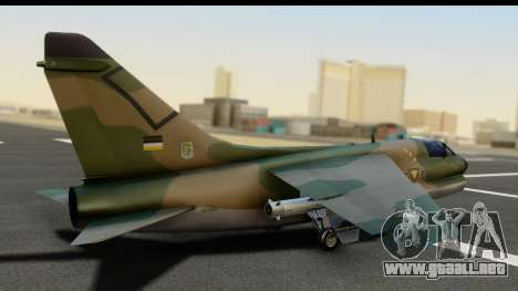 Ling-Temco-Vought A-7 Corsair 2 Belkan Air Force para GTA San Andreas left